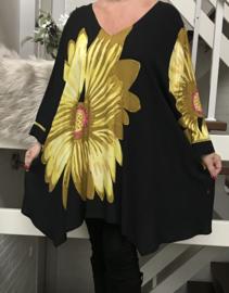 Jean Marc Philippe viscose A-lijn tuniek/blouse
