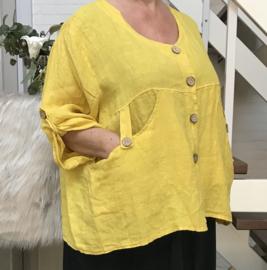 Moonshine oversized linnen vest/blazer  /in meerdere kleuren