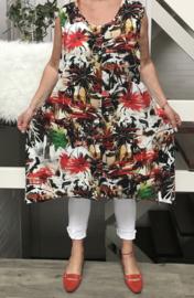 Naveed  jersey A-lijn jurk (extra groot)
