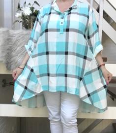 ITALIA viscose blouse/hemd /tuniek