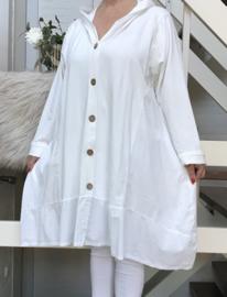 Moonshine A-lijn jersey blazer/jas stretch /in meerdere kleuren
