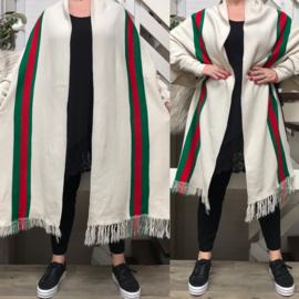 ITALIA oversized jersey sjaal/tuniek