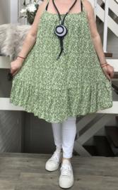 ITALIA viscose A-lijn jurk/in meerdere kleuren
