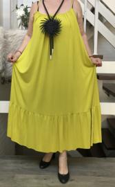 ITALIA jersey viscose A-lijn  jurk stretch /in meerdere kleuren