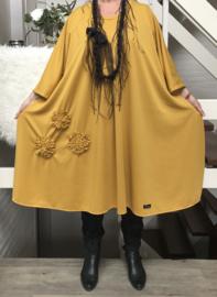 Debbie oversized A-lijn jersey jurk apart (extra groot)