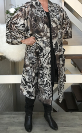 Lolita oversized A-lijn blazer/jas  (extra groot)  apart