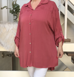 ITALIA viscose tuniek/blouse/hemd/in meerdere kleuren