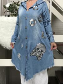 Vincenzo Allocca jeans katoen hemd/jurk