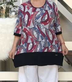 ITALIA viscose blouse/top