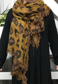 Italia super zacht winter dubbelzijdig asymmetrisch sjaal