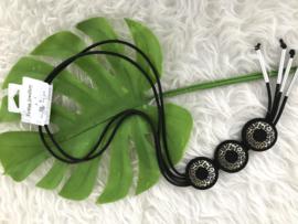 Fashion design jewellery rubber collier 80