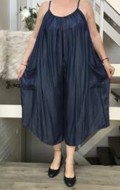 ITALIA jeans tencel  A-lijn jurk/broek