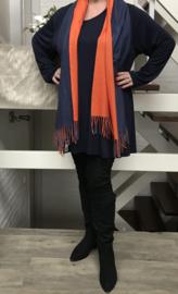 ITALIA zachte dubbelzijdige viscose sjaal