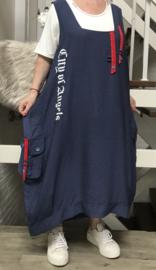VIA VIA  A- lijn viscose jurk + top