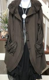 Moonshine oversized A-lijn jersey blazer/jas/ meerdere kleuren