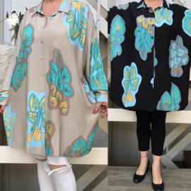 SEE katoen A-lijn  hemd/tuniek/blouse /in meerdere kleuren