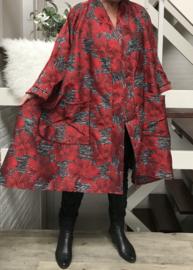 Anastasia oversized A-lijn  blazer/jas  (extra groot)  apart