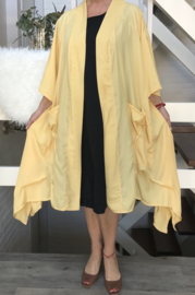 Carolyn oversized A-lijn blazer/jas  (extra groot)  apart