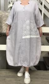SINNE design.. A- lijn linnen A-lijn jurk