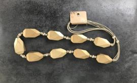 Fashion design jewellery houten  ketting