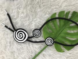 Fashion design jewellery rubber collier 41