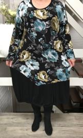 AKH Fashion viscose  jersey jurk