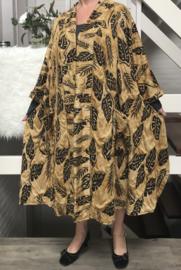Catherine oversized A-lijn jersey blazer/jas  (extra groot)  apart