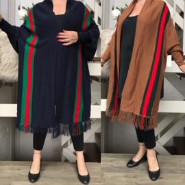 ITALIA oversized jersey sjaal/tuniek /in meerdere kleuren