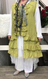 Moonshine linnen A-lijn over-jurk /in meerdere kleuren