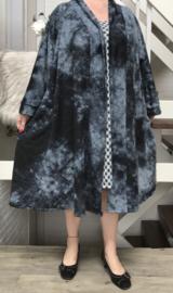 Brooke oversized A-lijn jersey blazer/jas met zakken (extra groot)  apart
