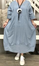 Moonshine luchtige katoen A-lijn jurk apart /in meerdere kleuren