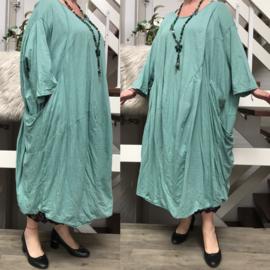 Moonshine katoen jersey A-lijn jurk apart/in meerdere kleuren