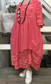 SINNE design.. A- lijn viscose jurk
