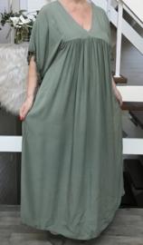ITALIA viscose IBIZA  A-lijn jurk/in meerdere kleuren