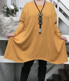 ITALIA zacht gebreide tuniek/jurk   /in meerdere kleuren