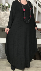 Naveed jersey viscose A-lijn jurk apart
