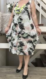 New Jersey viscose A-lijn jurk