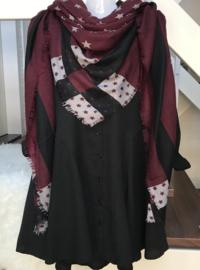 ITALIA klassieke vierkante zachte grote plaid sjaal/in meerdere kleuren