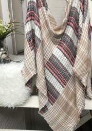 ITALIA vierkante sjaal-omslagdoek met print