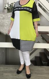 MAXLIVE viscose jersey tuniek/jurk