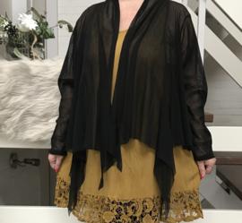 Moonshine oversized tule vest stretch/in meerdere kleuren