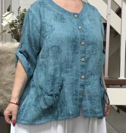 Moonshine oversized linnen vest/blazer