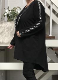 ITALIA oversized jersey katoen tuniek