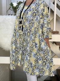 Giana oversized A-lijn jersey jurk met zakken apart (extra groot)