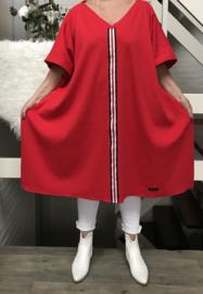 Cathy oversized  tuniek/poncho apart (extra groot)