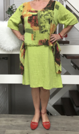 ITALIA  katoen jurk + top in een  /in meerdere kleuren