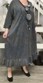 Vincenzo Allocca de modieuze kleuring jersey katoen jurk