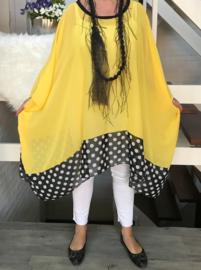 Marija oversized poncho/wrap apart (extra groot)