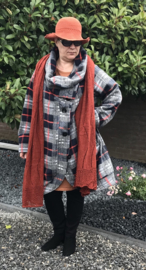 Naveed oversized jas apart/in meerdere kleuren