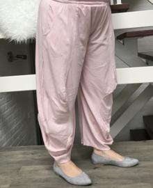 Moonshine jersey ballonbroek apart roze